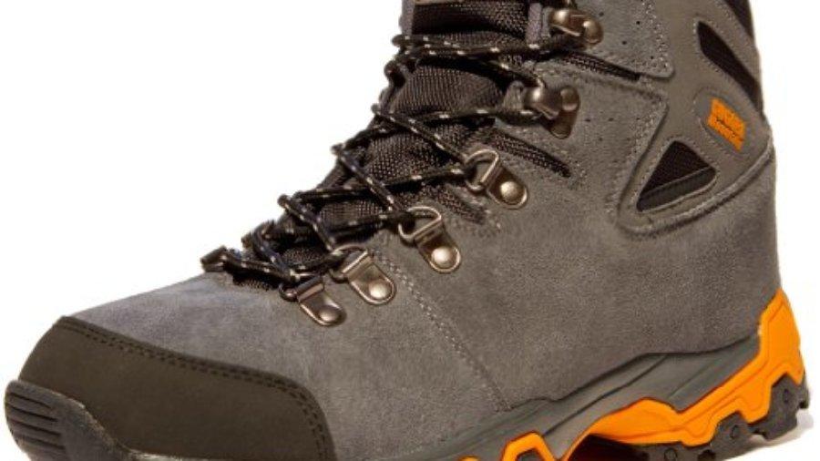 Bergschuhe Bergstiefel Wanderschuhe Wanderstiefel Mountain Boots Trekkingschuhe Unisex GUGGEN MOUNTAIN M008, Grau, EU 448